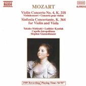 Violin Concerto No. 4/ Sinfonia Concertante by Wolfgang Amadeus Mozart