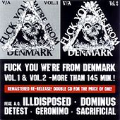 Fuck You We're From Denmark Vol. 1 & 2 by Various Artists