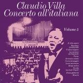 Concerto all'italiana - Vol. 5 by Claudio Villa