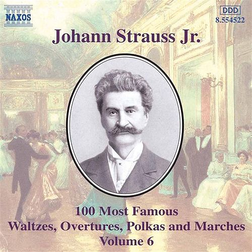 Johann Strauss Jr. - 100 Most Famous Waltzes Overtures Polkas And Marches Volume 10