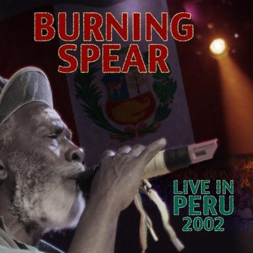 Live in Peru by Burning Spear