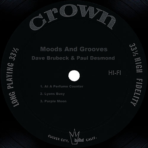 Moods And Grooves by Dave Brubeck