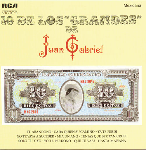 10 De Los 'Grandes' De Juan Gabriel by Juan Gabriel