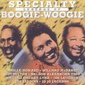 Specialty Legends Of Boogie Woogie by Various Artists