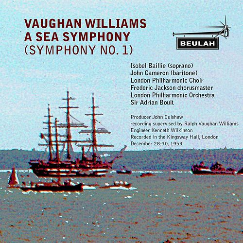 Williams: Symphony No. 1 (A Sea Symphony) by Various Artists