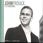 Moon And Sand by John Proulx