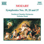 Symphonies Nos. 19, 20 and 37 by Wolfgang Amadeus Mozart