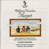 Mozart: Piano Concertos No. 17, K. 453 & No. 27, K. 595 by Alfred Brendel