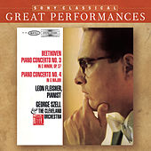 Beethoven: Piano Concertos Nos. 3 & 4 [Great Performances] by Leon Fleisher