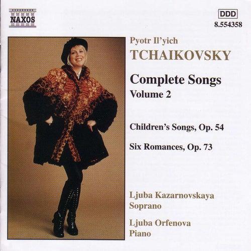 Complete Songs Vol. 2 by Pyotr Ilyich Tchaikovsky
