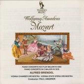 Mozart: Piano Concertos No. 22, K. 482 & No. 25, K. 503 by Alfred Brendel