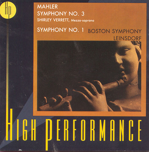 Mahler: Symphony Nos. 1 & 3 by Gustav Mahler