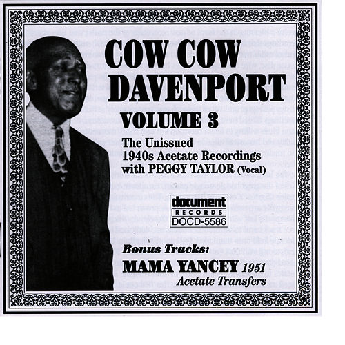 Cow Cow Davenport Vol. 3 (1940s) by Cow Cow Davenport