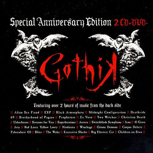 Gothik: Special Anniversary Edition by Various Artists