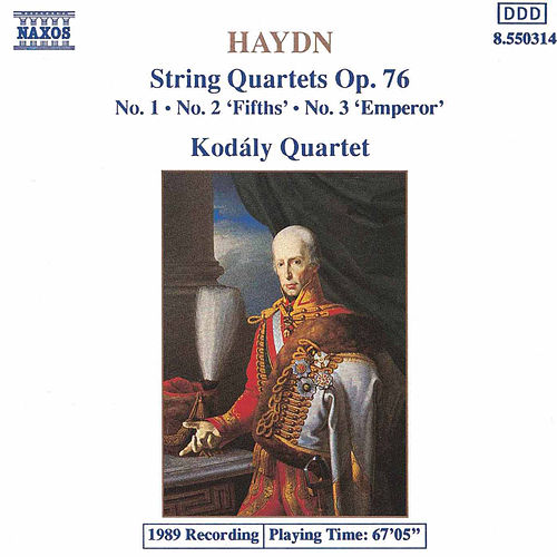 String Quartets Op. 76, Nos. 1-3 (unpublished) by Franz Joseph Haydn
