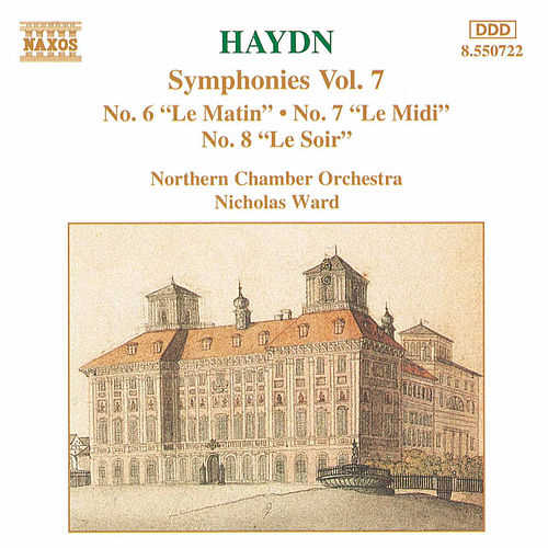 Symphonies Nos. 6-8 by Franz Joseph Haydn