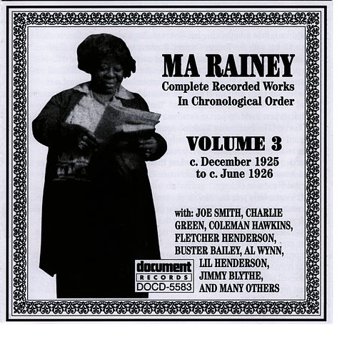 Ma Rainey Vol. 3 (1925-1926) by Ma Rainey