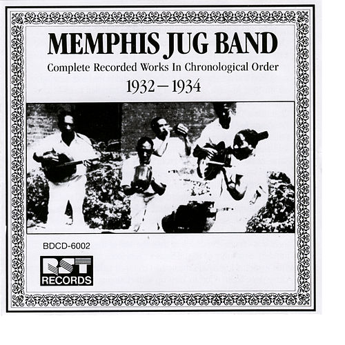 Memphis Jug Band (1932-1934) by Various Artists