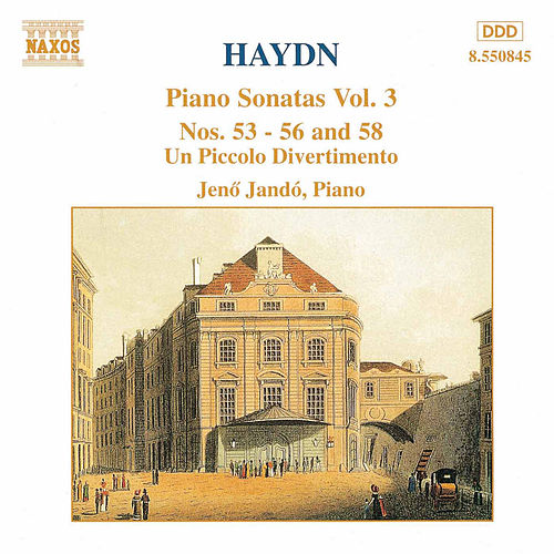 Piano Sonatas Vol. 3 by Franz Joseph Haydn