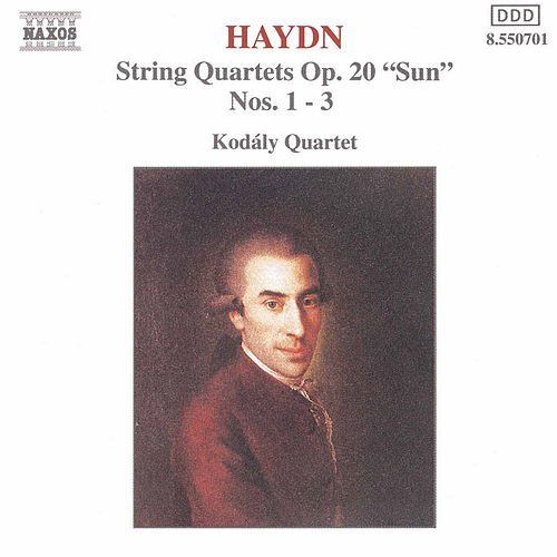 String Quartets Op. 20, Nos. 1 - 3 by Franz Joseph Haydn