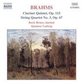 Clarinet Quintet, Op. 115 / String Quartet, Op. 67 by Johannes Brahms