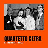 Quartetto Cetra at Their Best, Vol.2 by Quartetto Cetra