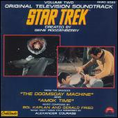 Star Trek Vol. 2: Doomsday Machine/Amok Time by Sol Kaplan