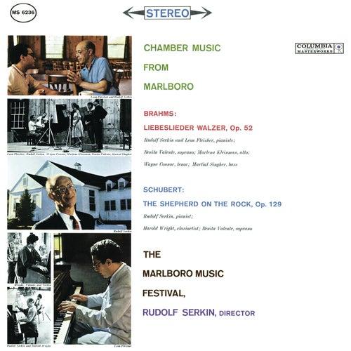 Brahms: Liebeslieder Walzer, Op. 52; Schubert: The Shepherd On the Rock, Op. 129 (Der Hirt auf dem Felsen, D 965) by Various Artists