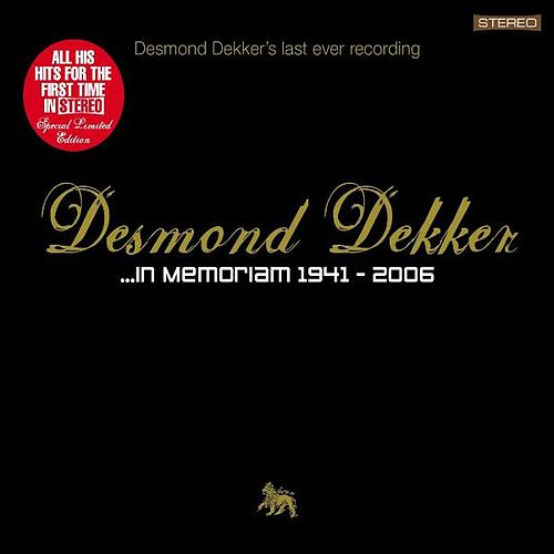 In Memoriam by Desmond Dekker