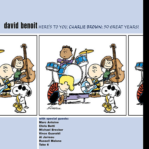 David Benoit - Here's To You, Charlie Brown: 50 Great Years!