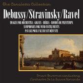 Debussy: Images For Orchestra / Stravinsky: Symphonies For Wind Instruments / Ravel: Pavane Pour Une Infante Défunte by Ernest Ansermet and L'orchestre De La Suisse Romande