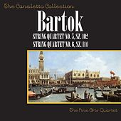 Bartók: String Quartet No. 5, SZ. 102 / String Quartet No. 6, SZ. 114 by Fine Arts Quartet