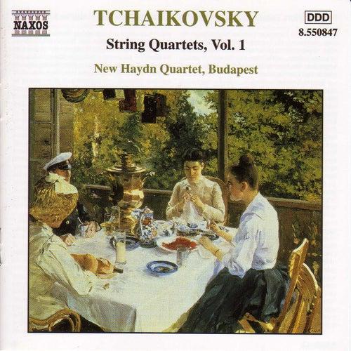 String Quartets Vol. 1 by Pyotr Ilyich Tchaikovsky