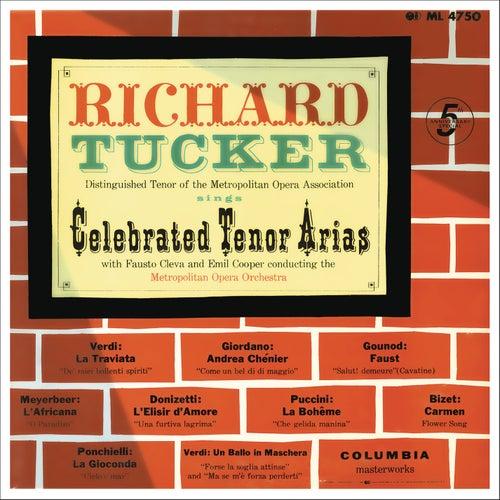 Richard Tucker - Celebrated Tenor Arias by Richard Tucker