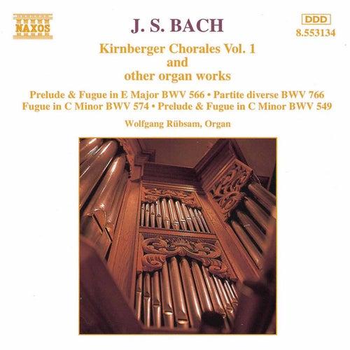 Kirnberger Chorales Vol. 1 by Johann Sebastian Bach