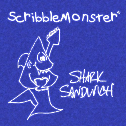 Shark Sandwich by Scribblemonster