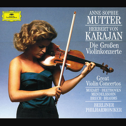 The Great Violin Concertos by Anne-Sophie Mutter