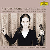 Elgar: Violin Concerto, op.61 / Vaughan Williams: The Lark Ascending by Hilary Hahn