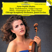 Berg: Violin Concerto / Rihm: Time Chant by Anne-Sophie Mutter