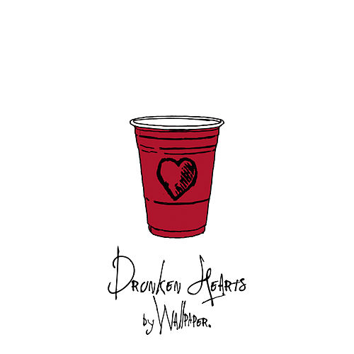 Drunken Hearts by Wallpaper.