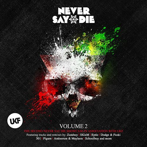 Never Say Die Vol. 2 by Various Artists
