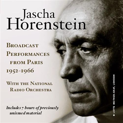Jascha Horenstein: Broadcast Performances from Paris, 1952-1966 by Various Artists