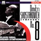 Shostakovich: Symphony No. 8 by Eliahu Inbal