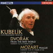 Mozart: Symphony No. 38 - Dvorak: Symphony No. 9 by Rafael Kubelik