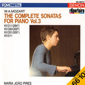 Mozart: The Complete Sonatas for Piano, Vol. 3 by Maria Joao Pires