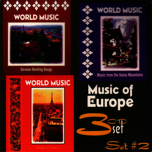Music of Europe, Set #2 by World Music