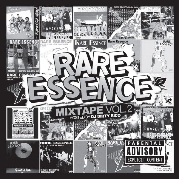 The Mixtape Volume 2 Hosted By DJ Dirty Rico By Rare