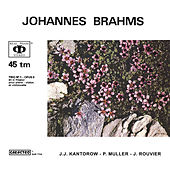 Johannes Brahms: Piano Trio No. 1 in B major, Op. 8 (revised version, 1889) by Jean-Jacques Kantorow