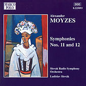 MOYZES: Symphonies Nos. 11 and 12 by Slovak Radio Symphony Orchestra