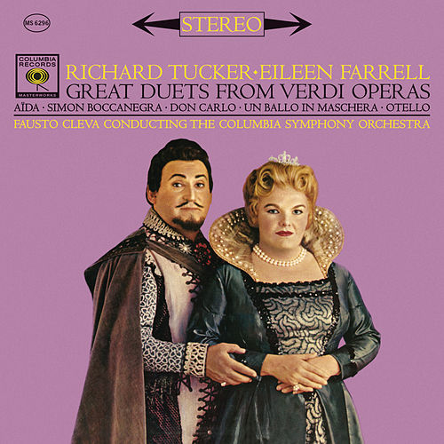 Great Duets from Verdi Operas by Richard Tucker